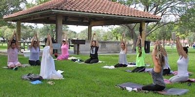 Kundalini Yoga at the Park