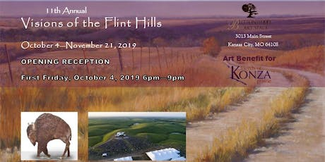 11th Annual Visions of the Flint Hills - First Friday tickets