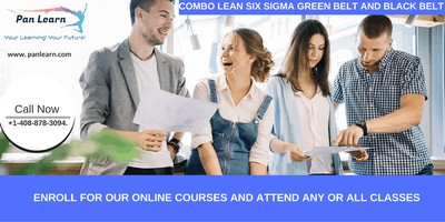 Combo Lean Six Sigma Green Belt and Black Belt Certification Training In Carmel, CA