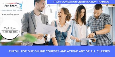 ITIL Foundation Certification Training In Carmel, CA