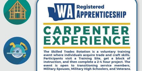 Carpenter Hands on Experience (Skilled Trades Rotation) tickets