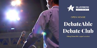 Debateable Debate Club Open House