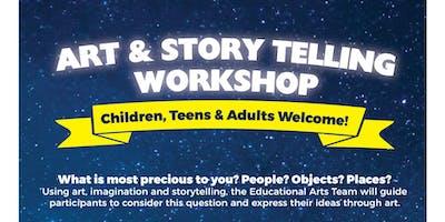 Art & Story Telling Workshop - Family Partners of Hudson County