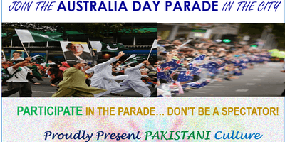 Australia Day Parade in the City