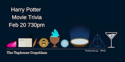 Harry Potter Trivia - Feb 20th 730pm The Taphouse Coquitlam