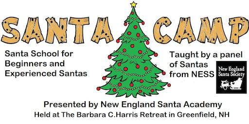 Santa Camp 2019 - A School for Santa, Mrs. Claus & the Elves
