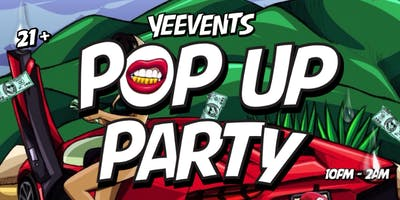POP UP PARTY, San Jose, CA |YEEVENTS