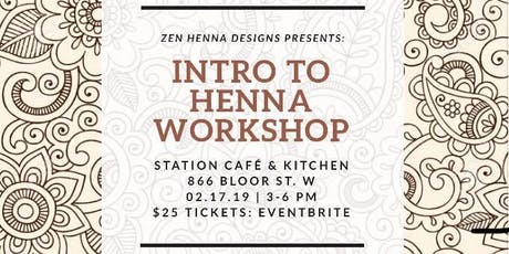 Henna 101 For Beginners Ages 8 12 Tickets Wed 13 Mar 2019 At 2