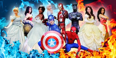 Princess and Superhero Party: Fire and Ice