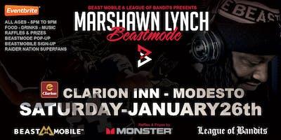 Marshawn Lynch in Modesto