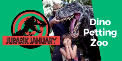 Dino Petting Zoo at Science Space - Part of Jurassic January