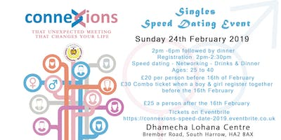 LCNL Connexions - Speed Dating Event 2019