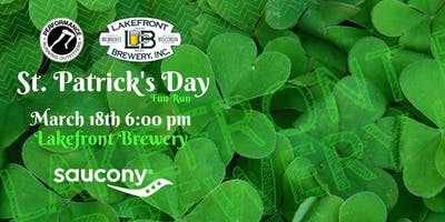 St. Patrick's Day Fun Run with Saucony - Lakefront Brewery