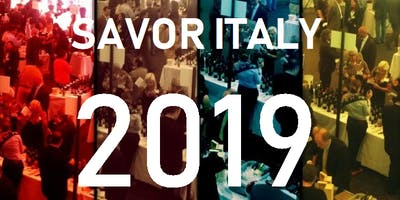 SAVOR ITALY 2019 - FOOD & WINE MEMBERS OF TRADE ONLY