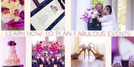 Online Wedding & Event Planning Certificate Class  tickets
