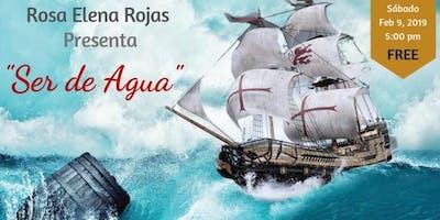 """Rosa Elena Rojas presenta su libro \""""Ser de Agua\"""""""