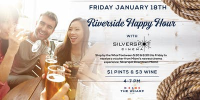 Riverside Happy Hour with Silverspot Cinema