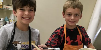 Kids Pottery and Art Camp 1st-6th grade