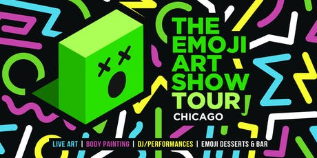 The Emoji Art Show Tour - Chicago tickets