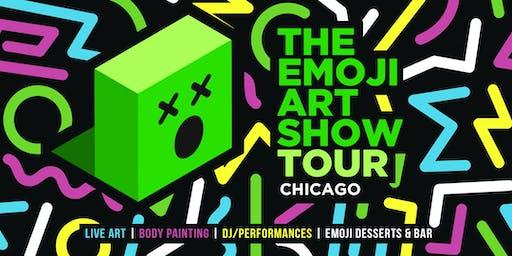 The Emoji Art Show Tour - Chicago