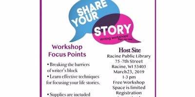 Share Your Story Writing Workshop