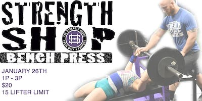 Strength Shop: Learn to Bench Press