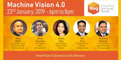 Machine Vision 4.0 - TensorFlow & Opensource AI