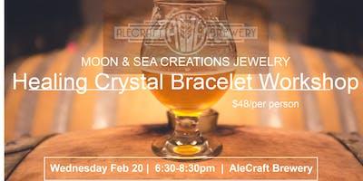 Healing Crystal Bracelet Workshop