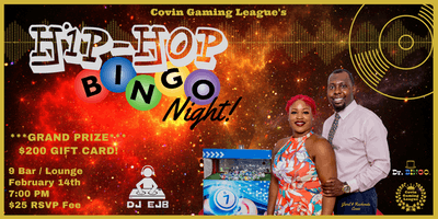 Covin Gaming League's Hip-Hop BINGO Night!