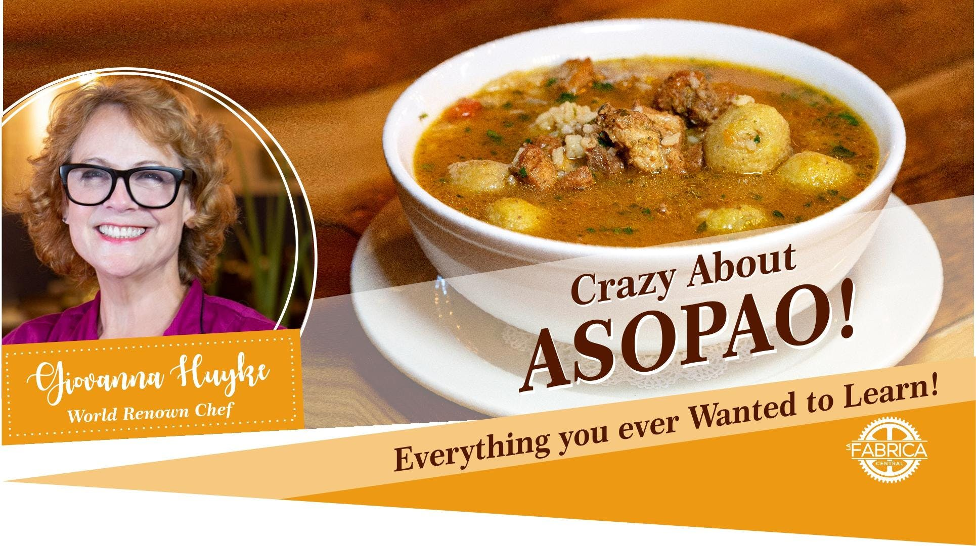 Crazy About Asopao | Cooking Class
