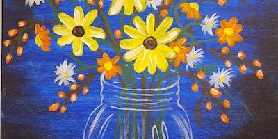 Spring Flowers BYO Paint & Sip