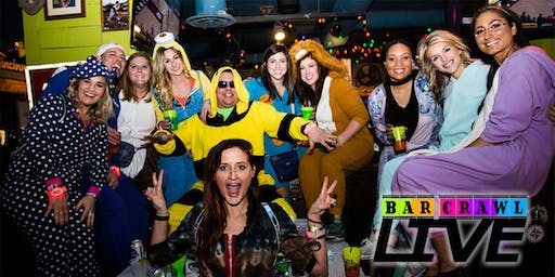 BOOZIN IN YOUR ONESIE BAR CRAWL | WASHINGTON, DC