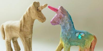 3D Unicorn painting and decoration for kids