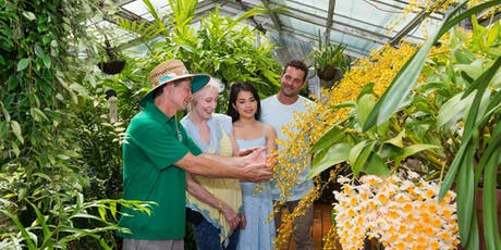 Botanic Garden Behind the Scenes Sensory Tour tickets