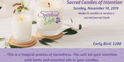 Sacred Candles of Intention for 2020 - Make 12 Candles