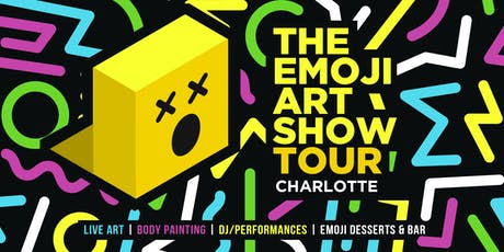 The Emoji Art Show Tour - Charlotte tickets
