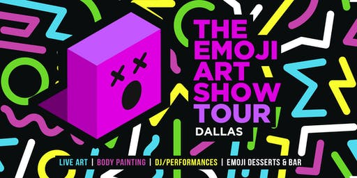The Emoji Art Show Tour - Dallas