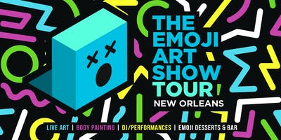 The Emoji Art Show Tour- New Orleans