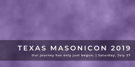 Texas MasoniCon 2019 tickets