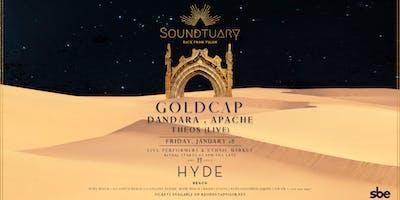 ✦ Goldcap & Dandara x Soundtuary at Hyde Beach ✦