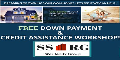 FREE DOWN PAYMENT & CREDIT WORKSHOP FOR HOMEBUYERS