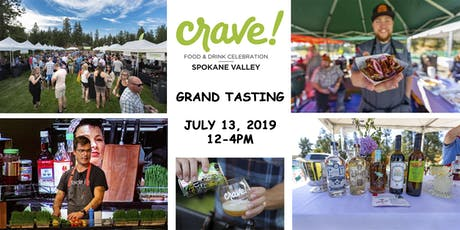 Crave! Grand Tasting tickets