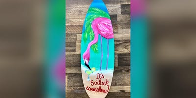 Flamingo: Dundalk, Seasoned Mariner with Artist Katie Detrich!