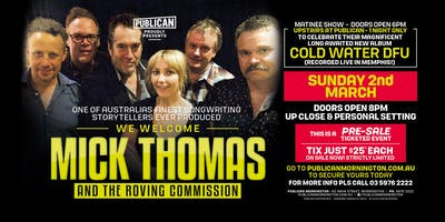 Mick Thomas and the Roving Commission at Publican, Mornington