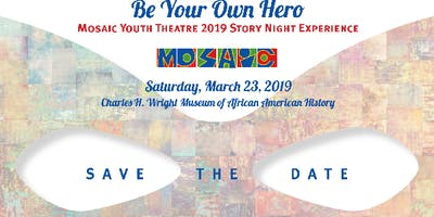 Mosaic Youth Theatre 2019 Story Night Experience
