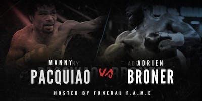 Pacquiao VS Broner