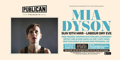 Mia Dyson LIVE at Publican!