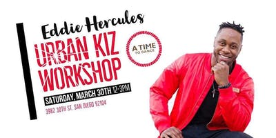 Urban Kiz workshop with the one and only Eddie Hercules!!!