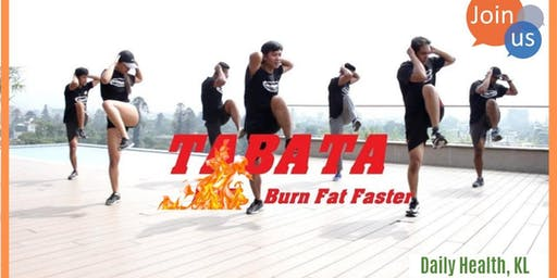 Fast FAT Loss Exercise: Tabata [3 in One]