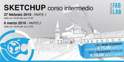 SKETCHUP - livello INTERMEDIO